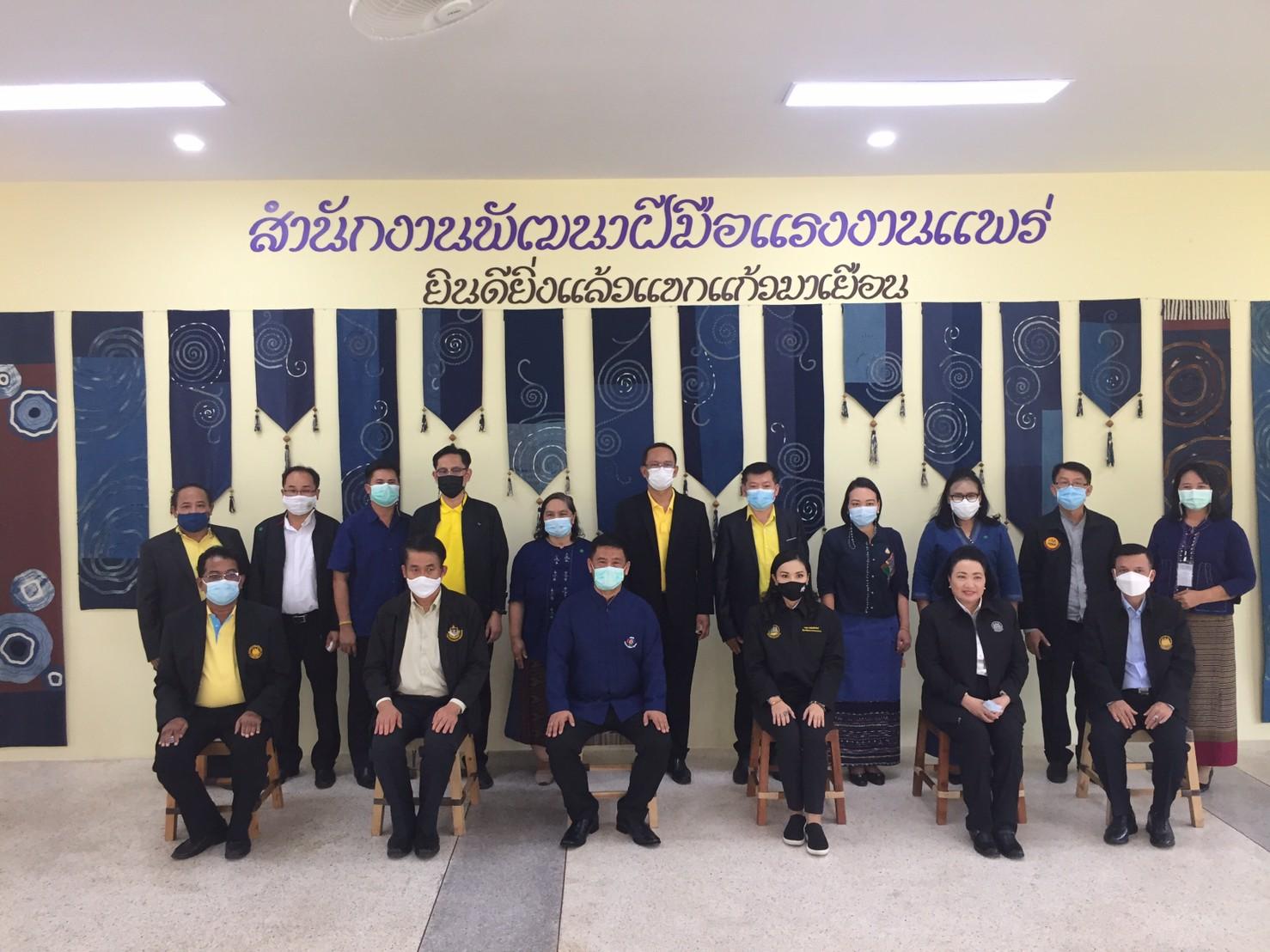 ศาสตราจารย์ นฤมล ภิญโญสินวัฒน์ (รัฐมนตรีช่วยว่าการกระทรวงแรงงาน) ลงพื้นที่จังหวัดแพร่ เพื่อตรวจติดตามการดำเนินงานขับเคลื่อนไทยไปด้วยกัน พื้นที่จังหวัดแพร่