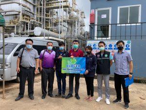 สำนักงานแรงงานจังหวัดแพร่ ร่วมตรวจประเมินโรงงานตามมาตรการป้องกัน การแพร่ระบาดของโรคติดเชื้อไวรัสโคโรนา 2019  (ครั้งที่ 4)