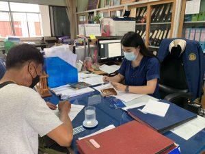 สำนักงานแรงงานจังหวัดแพร่ ให้คำแนะนำและคำปรึกษาแก่แรงงานไทย ที่ไปทำงานประเทศไต้หวัน ในการขอรับเงินคืนภาษี